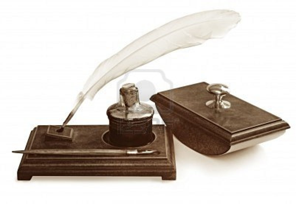 Quill And Ink Displaying 17> ...
