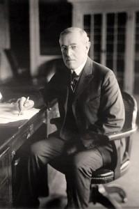 Woodrow-Writing-Wilson