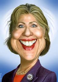 hillary caricature