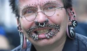 metal facial inserts